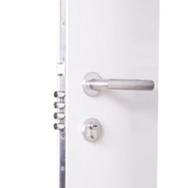 Oferta de Fechadura Auxiliar para Porta de Entrada Acetinado 60mm Comum 892 La Fonte por R$1185,9