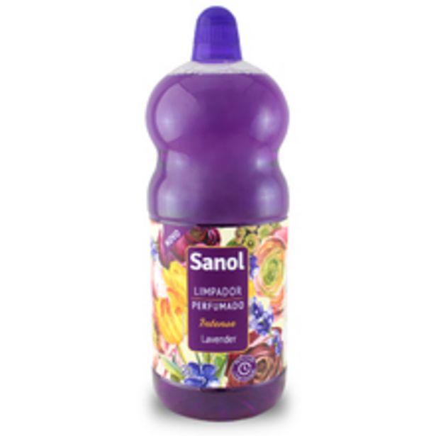 Oferta de Limpador Perfumado Lavender 2L Sanol por R$13,9
