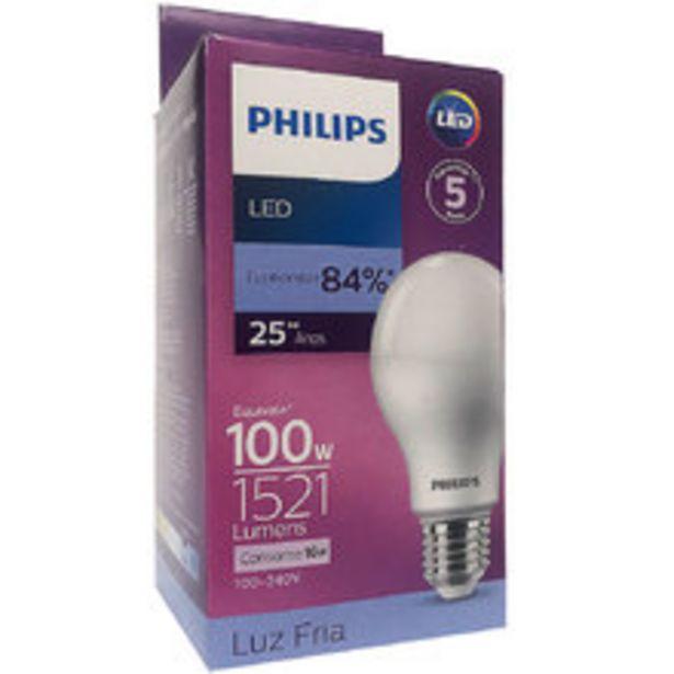 Oferta de 5 Lâmpadas Led Philips Bulbo 16w Branco Frio 1521lm E27 Bivolt Equivale 100w por R$175,29