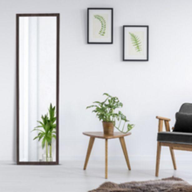 Oferta de Espelho Color Tabaco Wengue 48x164cm por R$119,9