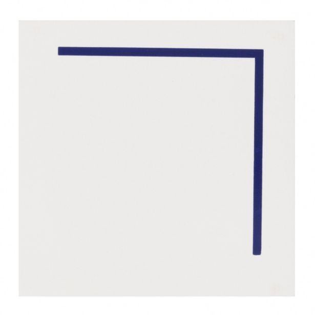 Oferta de Revestimento Decorativo Novita GNT Azul 19,8x19,8cm Gabriella por R$13,9