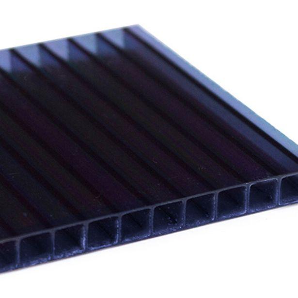 Oferta de Chapa De Policarbonato Alveolar 1,05x3,00 4mm Fumê por R$159,9