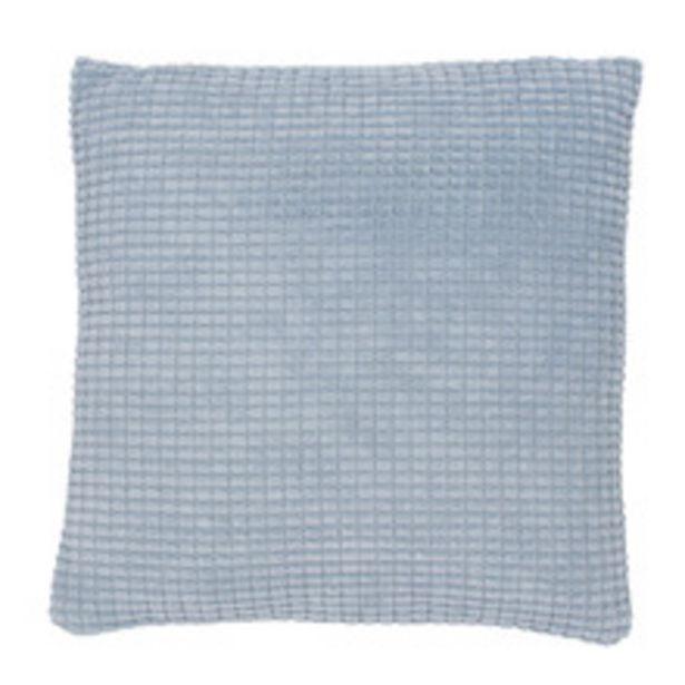 Oferta de Almofada Mety Azul Céu 45x45cm Inspire por R$59,9