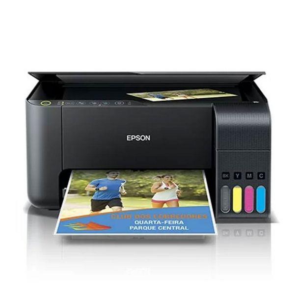 Oferta de Impressora Multifuncional Epson Deskjet Eco Tank L3150 Wifi por R$1299