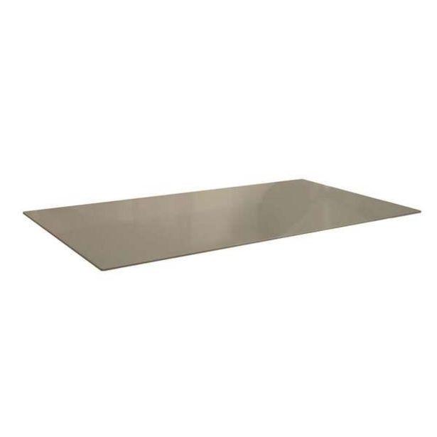 Oferta de Tampo Para Mesa De Cozinha Retangular Dyal Bronze (150x80 Cm) por R$776,47