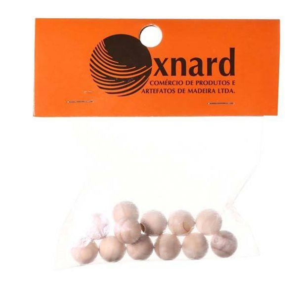 Oferta de Esfera de Madeira 13x13mm Oxnard por R$8,85