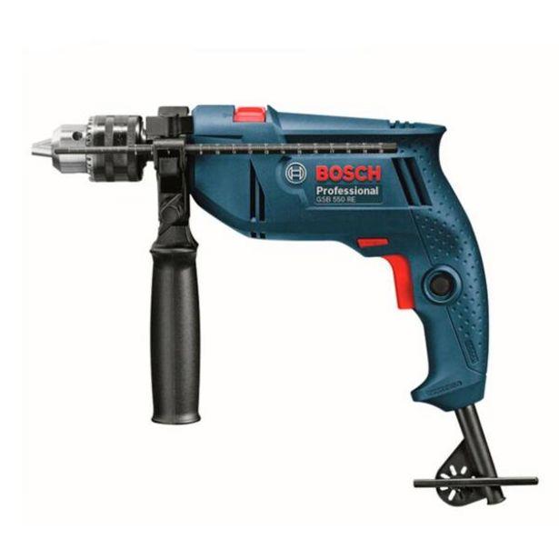 Oferta de Furadeira Impacto 550w 2700rpm Gsb 550 Re - Bosch por R$391,63