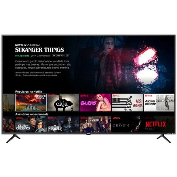"""Oferta de Smart Tv Philco 65"""" Ptv65f80sns 4k - Netflix Bivolt por R$5599,9"""