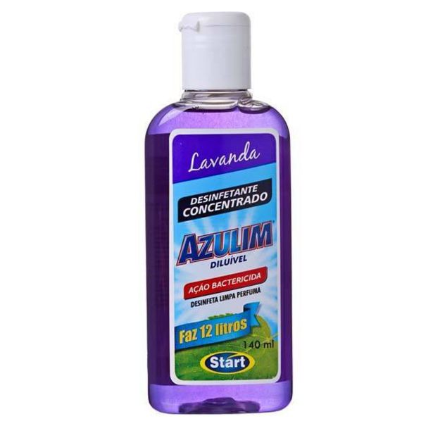 Oferta de Desinfetante Azulim 140mL Lavanda Start Quimica por R$10,18