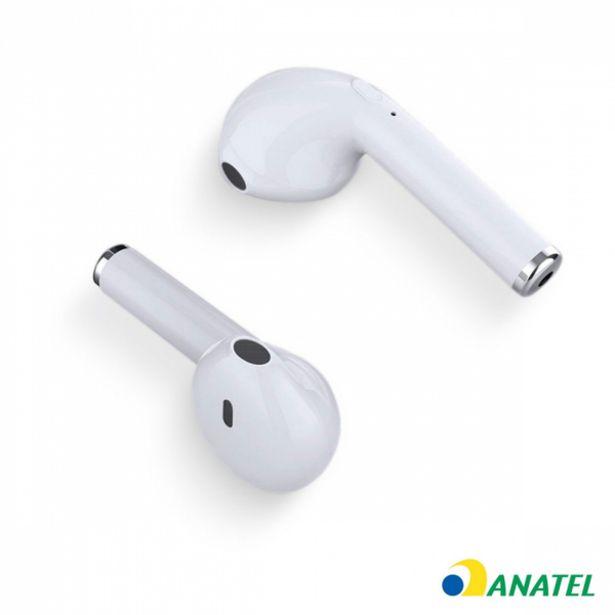 Oferta de Fone De Ouvido Bluetooth Easy W1 Tws - Branco por R$131,9