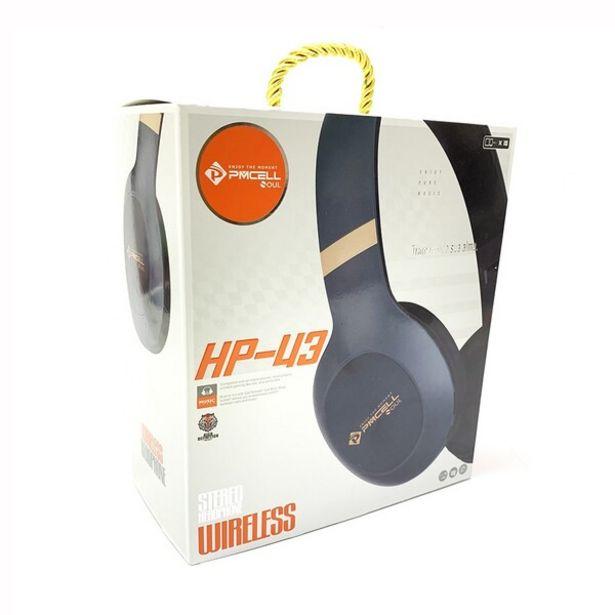 Oferta de Headphone Bluetooth Pmcell Hp-43 Verde por R$99