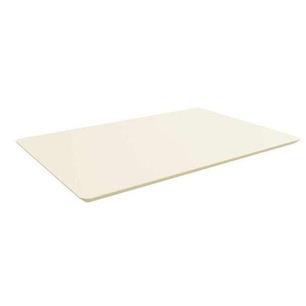 Oferta de Tampo Para Mesa De Cozinha Retangular Styl Off White (120x80 Cm) por R$326,93