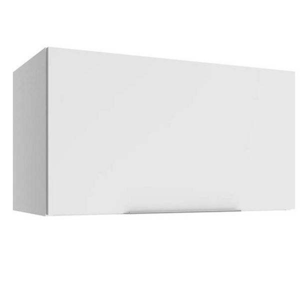 Oferta de Armário Aéreo Madesa Stella 60 Cm 1 Porta Basculante - Branco por R$189,99