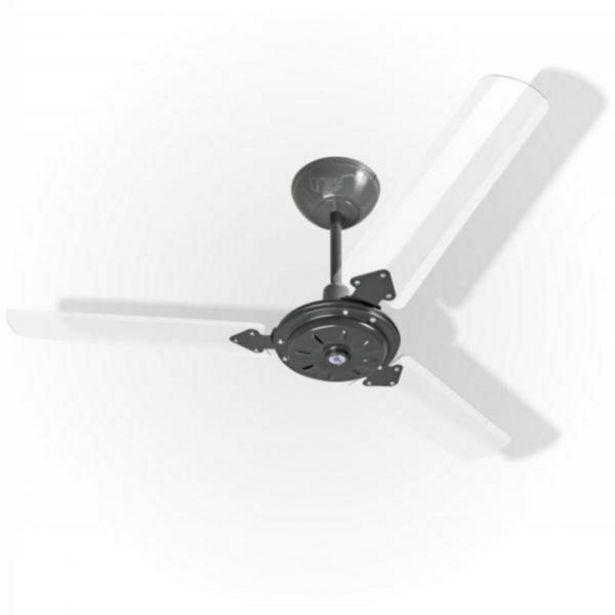 Oferta de Ventilador Eco San Grafite 110V 3 Pás Transparentes por R$264