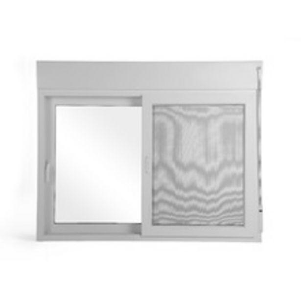 Oferta de Janela Veneziana de Correr PVC com Persiana Integrada Manual 1,20x1,50m Linha Shine Shine por R$2766,9