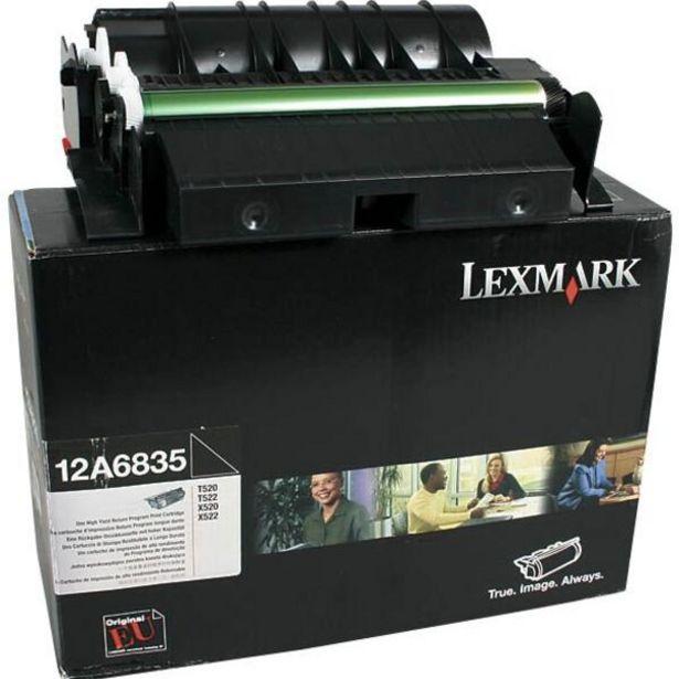 Oferta de Toner Lexmark Preto - 12a6835 por R$250