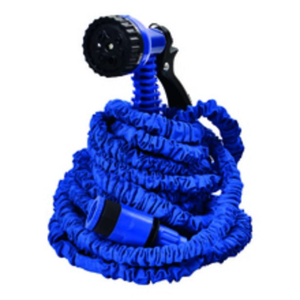 Oferta de Mangueira Expansivel Mágica Azul 15m Fixxar por R$69,9