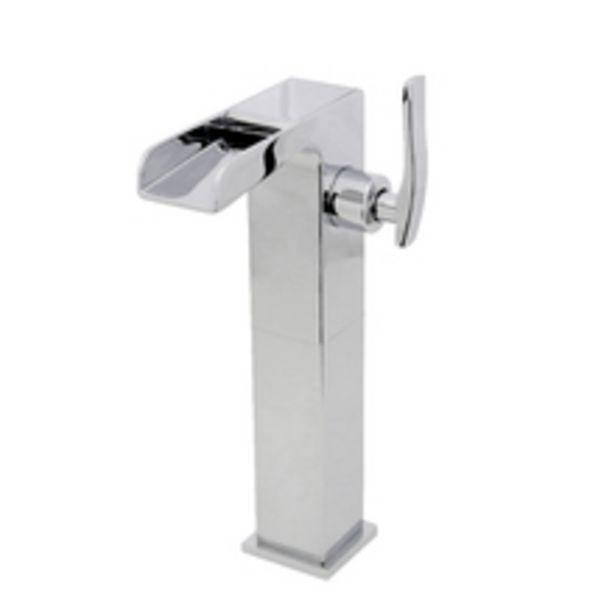 Oferta de Torneira para Pia de Banheiro Bica Alta Cromado Arles Sensea por R$399,99