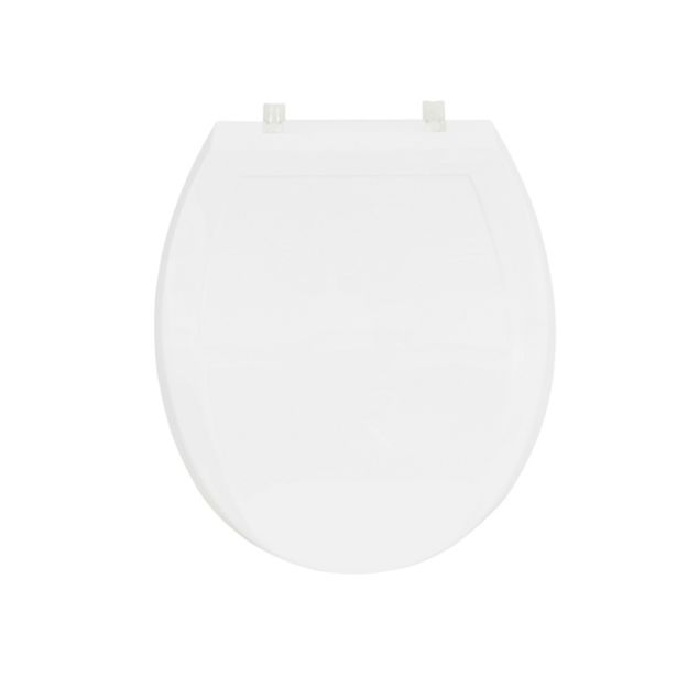 Oferta de Assento Sanitário Convencional Almofadado Plus Branco Sensea por R$73,9