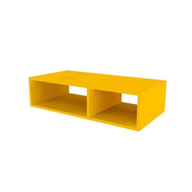 Oferta de Nicho Retangular Divani Amarelo por R$189,37