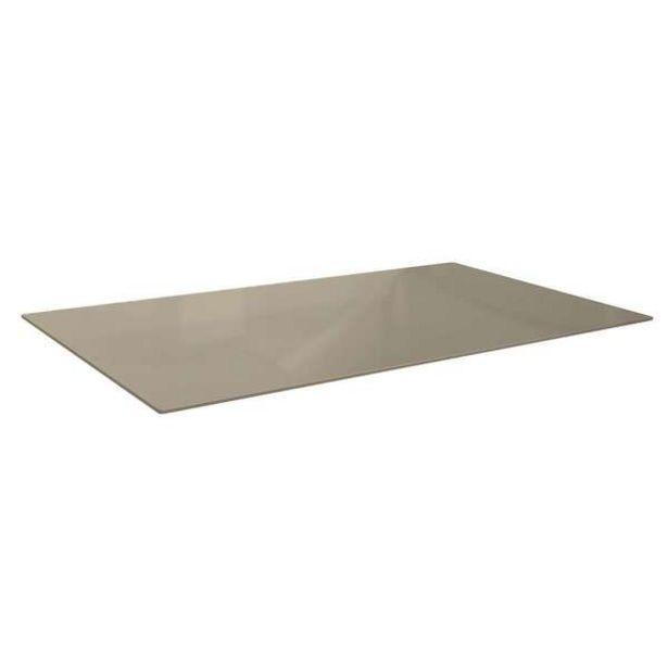 Oferta de Tampo Para Mesa De Cozinha Retangular Dyal Bronze (140x80 Cm) por R$568,14