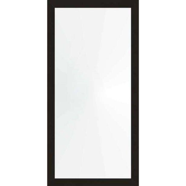 Oferta de Espelho 48x98 Moldura 4cm Reta Preta por R$87,99