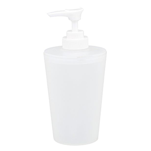 Oferta de Porta Sabonete Líquido Incolor em Plástico Bimbo Importado por R$16,2
