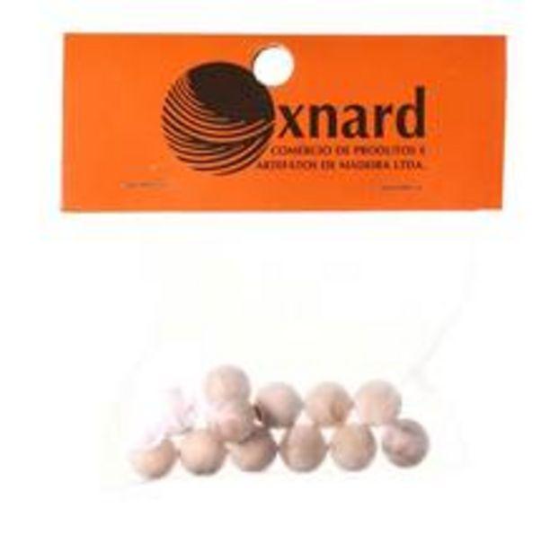 Oferta de Esfera de Madeira 13x13mm Oxnard por R$9,9