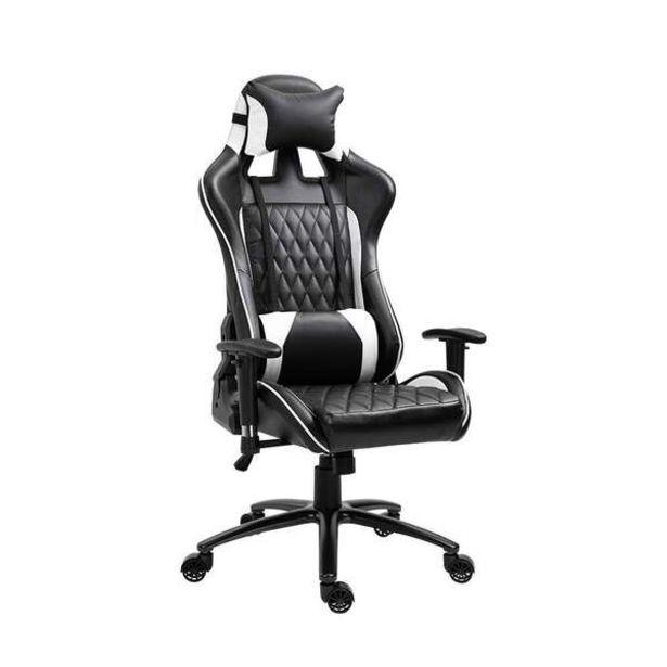 Oferta de Cadeira Gamer Duty Preta E Branca por R$943,99