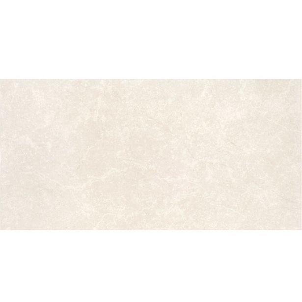 Oferta de Revestimento para Parede Interna Mármore Brilhante Borda Arredondada Marmore Bianco 30x60cm Portobello por R$57,9