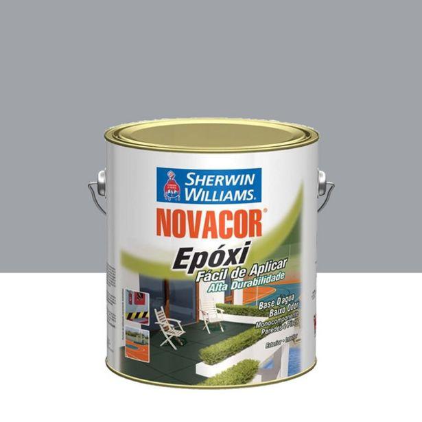 Oferta de Tinta Epóxi Brilhante Novacor Epóxi Premium Cinza 201 3,6L Sherwin Williams por R$276,3