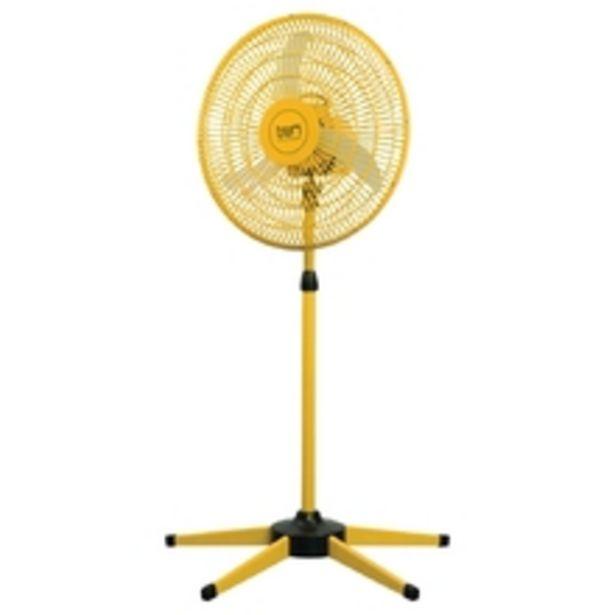 Oferta de Ventilador Oscilante Coluna 110v Amarelo por R$455