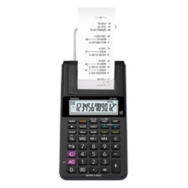 Oferta de Calculadora Casio C/ Impressora, 12 Dígitos Hr-8rc por R$280