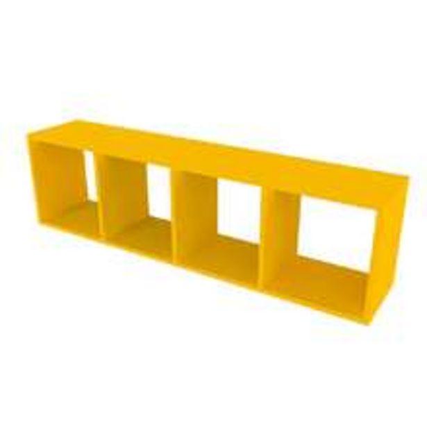 Oferta de Nicho Retangular Ciati Amarelo por R$260,99