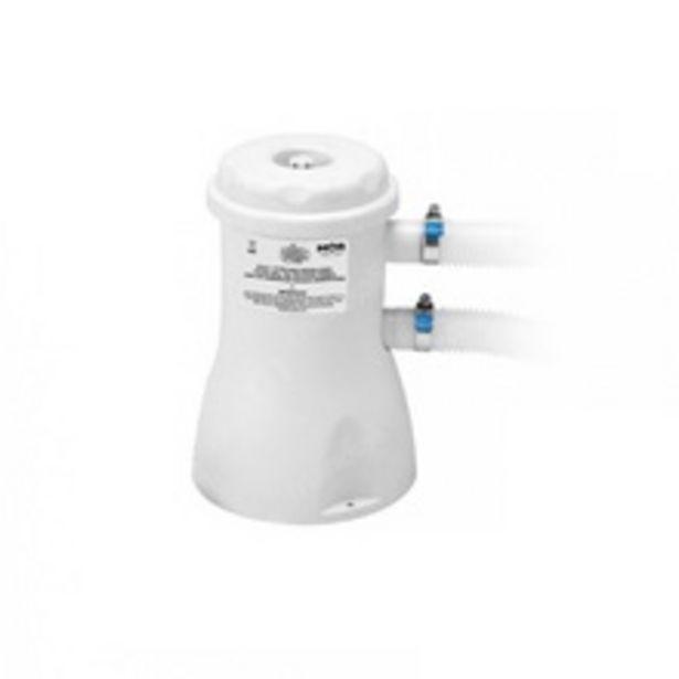 Oferta de Bomba Filtrante Filtro Para Piscina Vazão 2.200 L/h 110v Com Refil por R$225,72