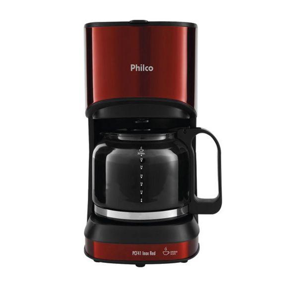 Oferta de Cafeteira Philco  Inox Red Pcf41 127v por R$229,9