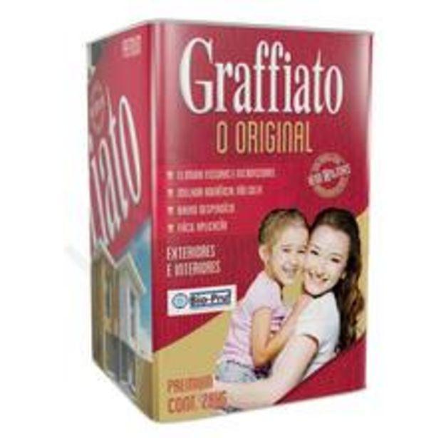 Oferta de Textura Riscado Premium Graffiato Erva Doce 28kg Hydronorth por R$123,9