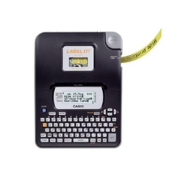 Oferta de Etiquetadora Casio Lcd Grande 16 Dígitos E 4 Linhas Kl-820 por R$407,3