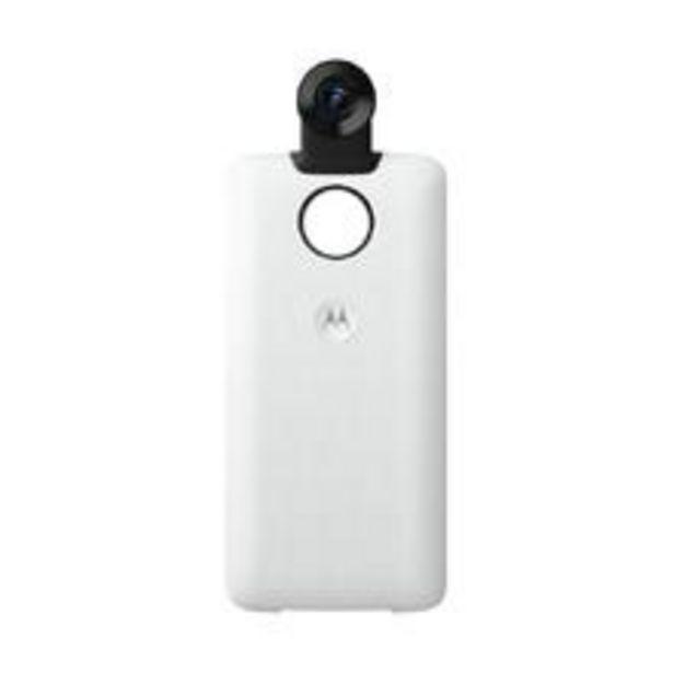 Oferta de Moto Snap Motorola Camera 360° - Branco por R$1499