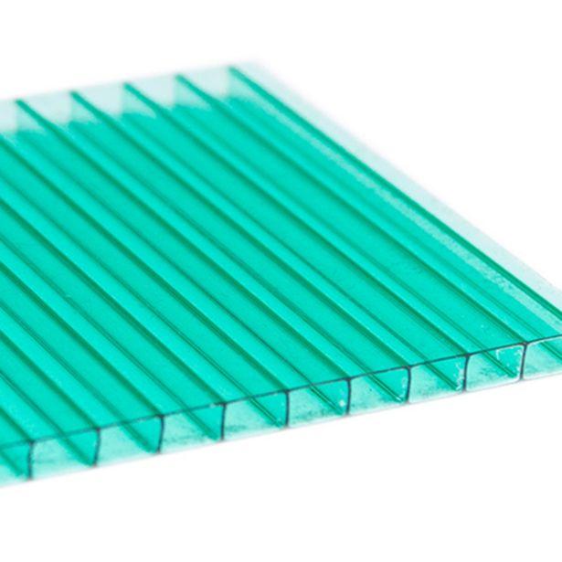 Oferta de Chapa De Policarbonato Alveolar 1,05x3,00 6mm Verde por R$199,9