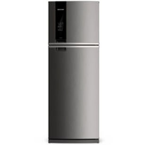 Oferta de Geladeira Brastemp Frost Free Duplex 500 Litros Cor Inox Com Turbo Control 220v por R$3729
