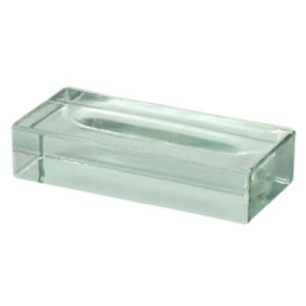 Oferta de Tijolo de Vidro Maciço Incolor 5x10x22cm CasaFina por R$39,9
