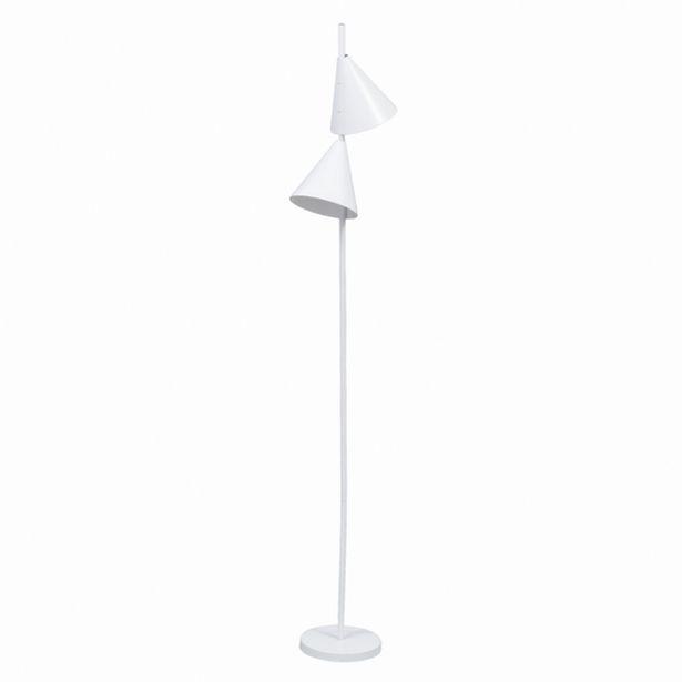 Oferta de Luminária de Chão Branco 1,65m Kopu Inspire por R$399