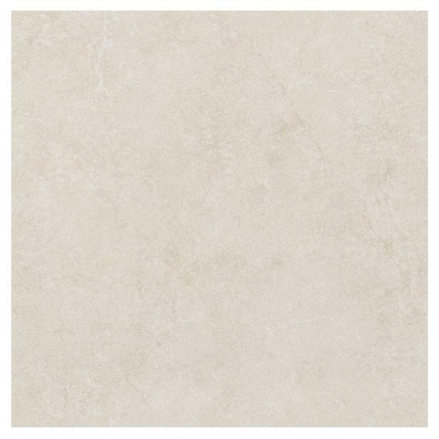 Oferta de Porcelanato Interno Mármore Esmaltado Borda Arredondada Mármore Crema 60x60cm Portobello por R$59,7