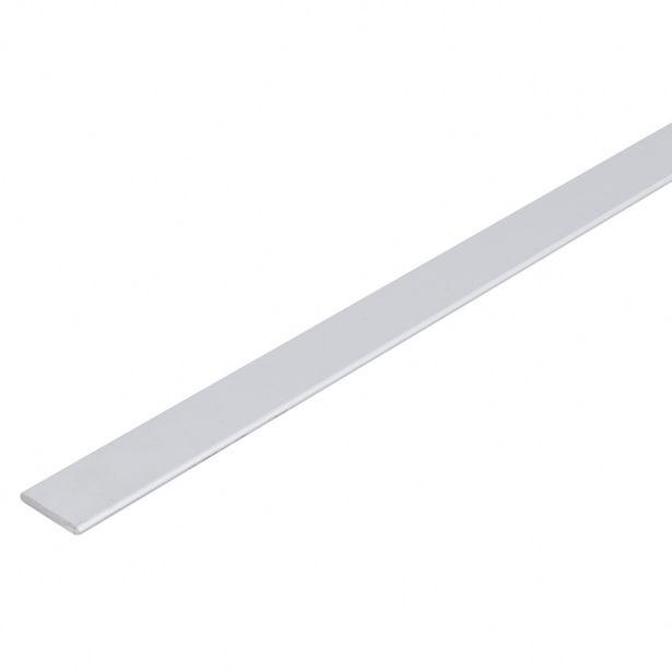 Oferta de Perfil Alumínio Plano 2mx30x4mm Anodizado por R$79,79