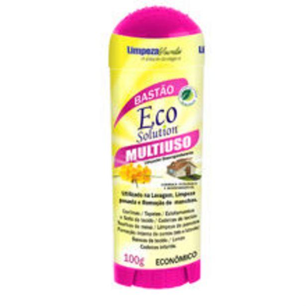 Oferta de Removedor De Manchas Eco Solution 100G Limpeza Verde por R$21,52