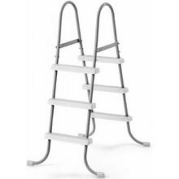 Oferta de Escada Dupla Intex 3 Degraus 107cm Para  Piscina Inflável Estrutural por R$399,99