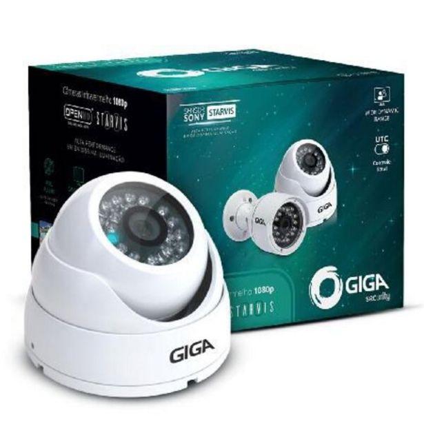 Oferta de Camera Dome Metal 15 Leds Full Hd 1080p Sony Starvis 30m Lente 2.8mm Gs0051 por R$199