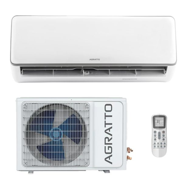 Oferta de Ar Condicionado Split Inverter Neo 18000BTUs Quente e Frio Agratto por R$3398