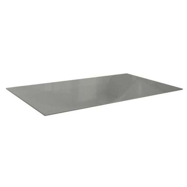 Oferta de Tampo Para Mesa De Cozinha Retangular Dyal Inox (140x80 Cm) por R$568,14